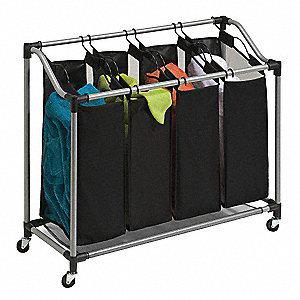 Laundry Sorter, 4-Compartment
