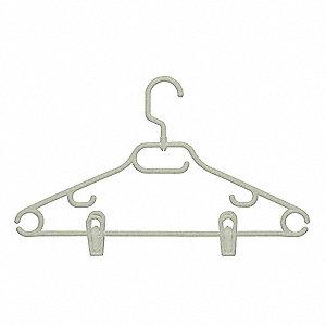 SWIVEL HANGER W/DRESS NOTCH CLIPS,P