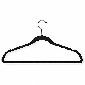 Suit Hanger,Black,PK50