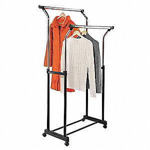 Delicieux Flared Double Garment Rack