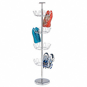 Shoe Tree Rack,24 Pair