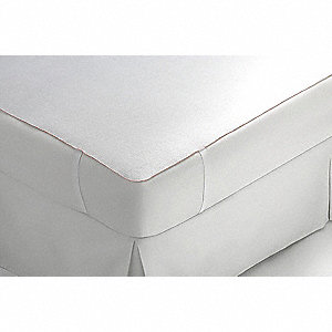 Full 100% Polyester Mattress Pad