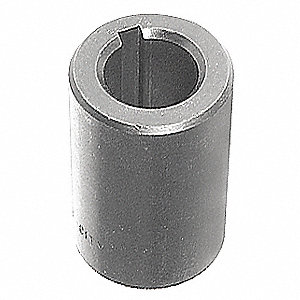 "1 Piece Solid 1"" Bore Dia. Steel Rigid Shaft Coupling"