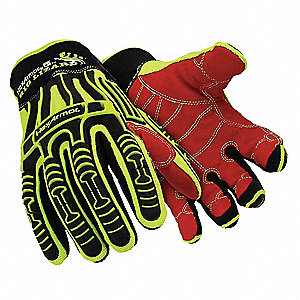Cut Resistant Gloves, ANSI/ISEA Cut Level 3, TPX Lining, Yellow/Black, S, PR 1