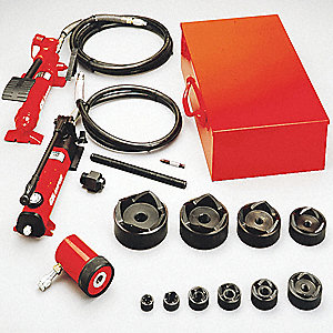 HYDRAULIC PUNCH DRIVER SET,1/2-4 IN