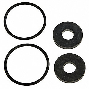 CHECK RUBBER PARTS KIT,3/4 TO 1 IN