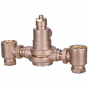 TEMPERING VALVE,1-1/4 IN,LEAD FREE