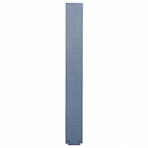 Toilet Part,82in.H,3in.W,Ebony Granite
