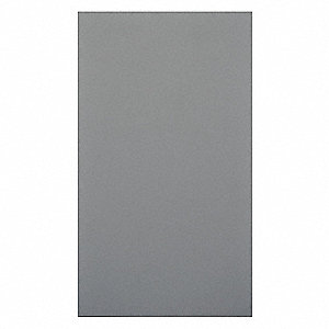 "Panel, Phenolic, Silver Gray, 58"" W X 58"" H"