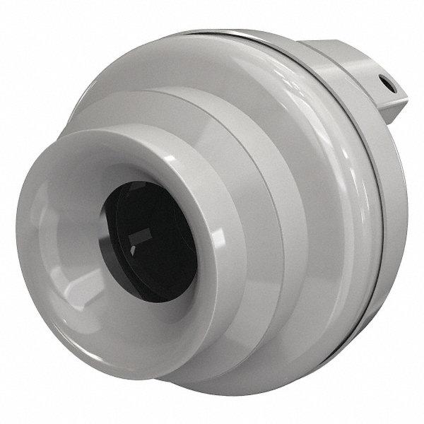 Small Inline Exhaust Fans : Fantech plastic inline fan fits duct dia quot voltage