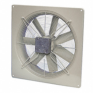 Exhaust Fan,115V,624 CFM,10 In