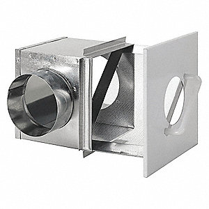 Lint Trap,Galvanized Steel,4 In. Dia.