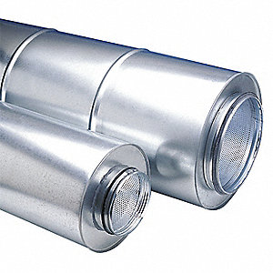 Duct Silencer,6 In. Dia.
