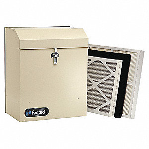 Air Cleaner, Vertical Mount, 240 Air Flow (CFM), 120 Voltage, 20 Height (In.), 16 Width (In.)