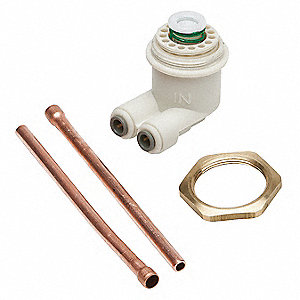 Brass,Valox, Rubber, Celcon, Steel Regulator Kit, For Elkay and Halsey Taylor Pushbar-Activated and