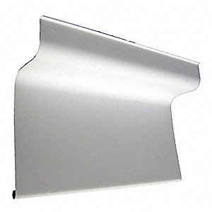 Basin Guard,42 In,PVC,White
