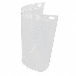 Faceshield Window,Propionate,Clear