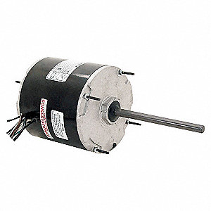 CONDENSER FAN MOTOR,1/6 HP,825 RPM,
