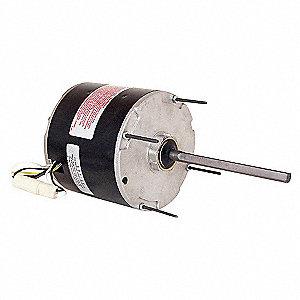 CONDENSER FAN MOTOR,3/4 HP,1075 RPM