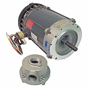 HAZLOC MOTOR,3-PH,1 HP 208-230/460