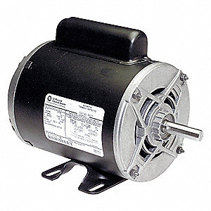 AIR COMPRESSOR MOTOR,1 HP,3450,115/2