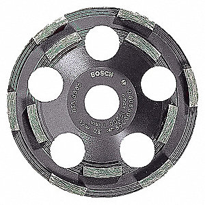 5 DIAM CUP WHEEL-COATINGS