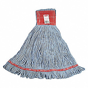 MOP 28OZ 5IN RED BAND 6/PK