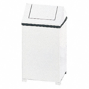 CONTAINER 14GAL WHITE W/LINER