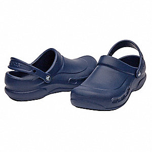 Slip-On Shoes w/Strap,Blue,Mens 13,PR
