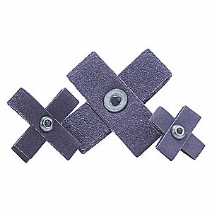"1-1/2"" Abrasive Cross Pad, Medium Grade"