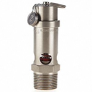Stainless Steel Air Safety Valve with Soft Seat Valve Type