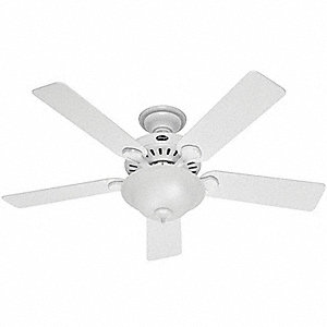 Decorative Ceiling Fan,Beech/White