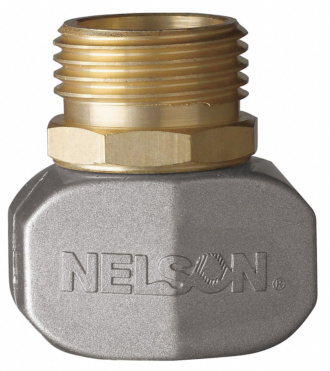 NELSON BrassZinc Hose End Repair Kit 58 to 34 GHT Connection