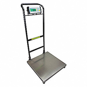 Weighing Scale,SS Pltfrm,440 lb. Cap.