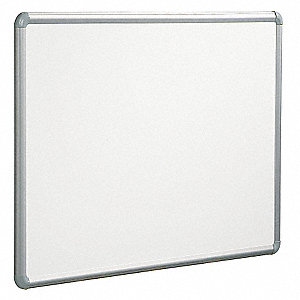 "Dry Erase Board,Magnetic,Steel,36""x48"""