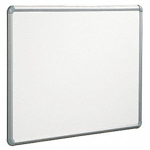 Gloss-Finish Steel Dry Erase Board, Wall Mounted, 48 inH x 96 inW, White