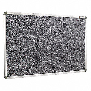 Bulletin Board,Black,RubberTak,18inx24in