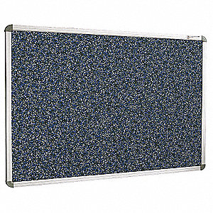 Bulletin Board,Blue,RubberTak,36inx24in