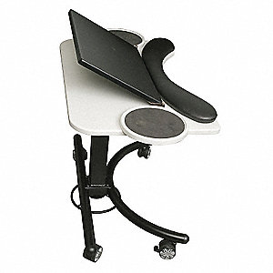 Laptop Stand,Black/White