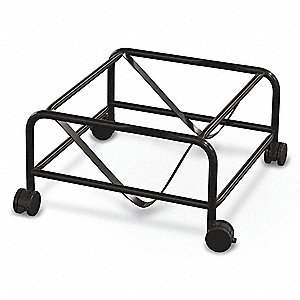 "26""L x 25-5/8""W x 12-1/2""H Black Stacked Chair Dolly, 125 lb. Load Capacity"