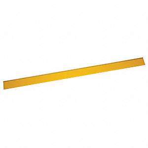 Yellow Warning Stake