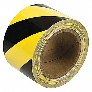 Aisle Marking Tape,Roll,3In W,60 ft. L