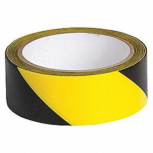 Warning Tape,Roll,1-1/2In W,54 ft. L
