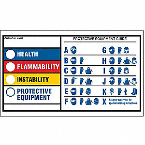 HMIG Self-Laminating Label,3 x 5in,PK25
