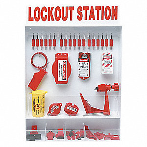 Lockout Station,93 Components