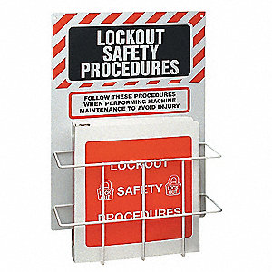 Lockout Station,Unfilled,2 Components