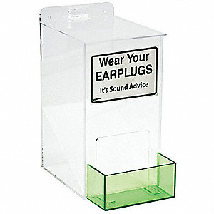 Ear Plug Dispenser,Univ,Holds 100-150 PR