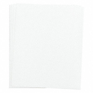 "Gloss-Finish Plastic Dry Erase Replacement Panel, Wall Mounted, 11""H x 9"""