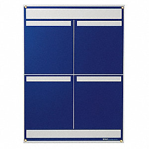 LEAN METRIC BOARD 25INX34.25INBLUE
