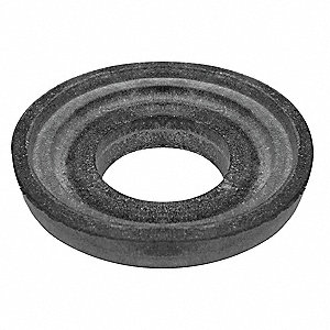 Rubber Tank to Bowl Gasket, Black, For Use With All Flushmate Equipped Toilets Except Mansfield